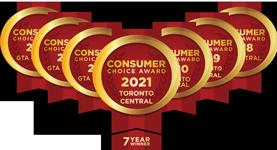 7 Year Consumer Choice Award